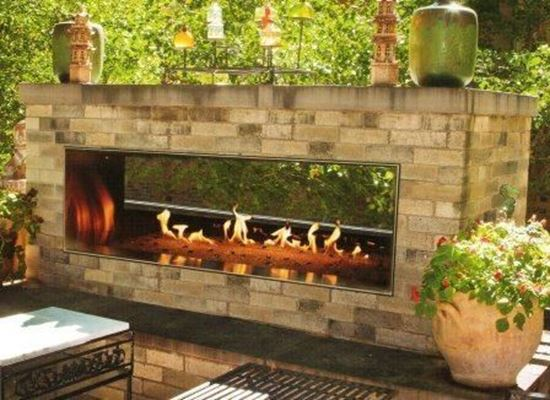 Outdoor Living Leonard S Stone And Fireplace