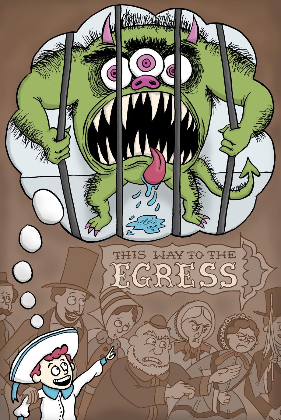 THE EGRESS