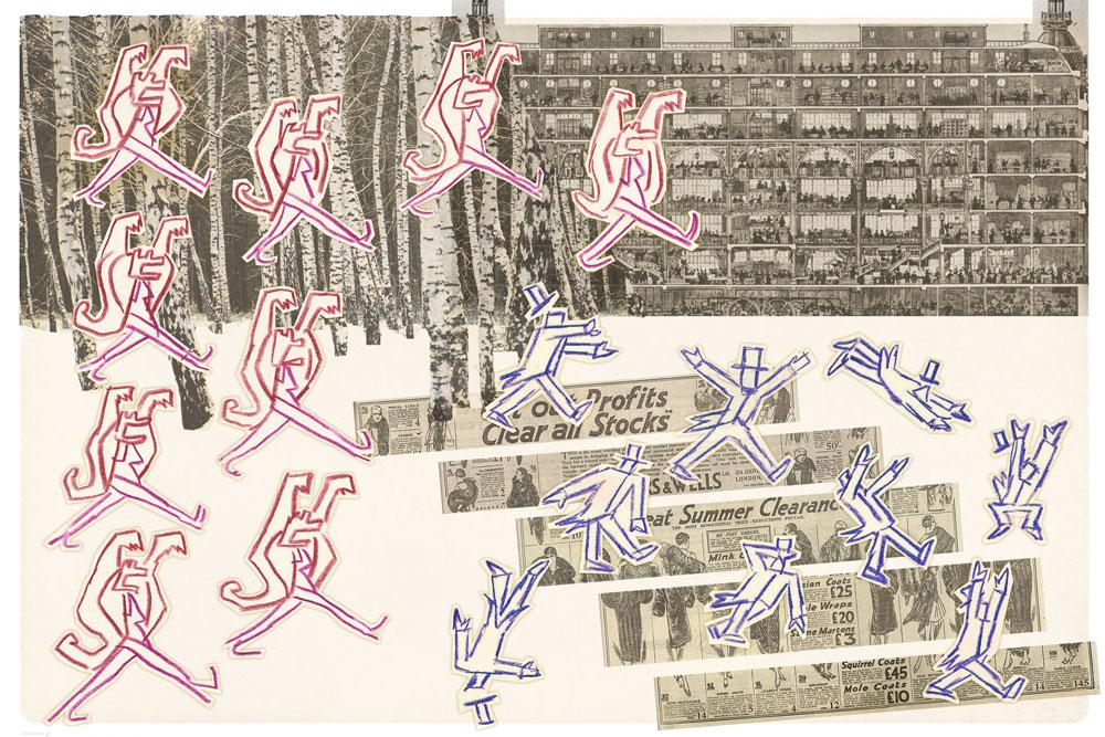 THE IMPOSSIBLE CITY (ca. 1934) – Scenic/choreographic/costume design