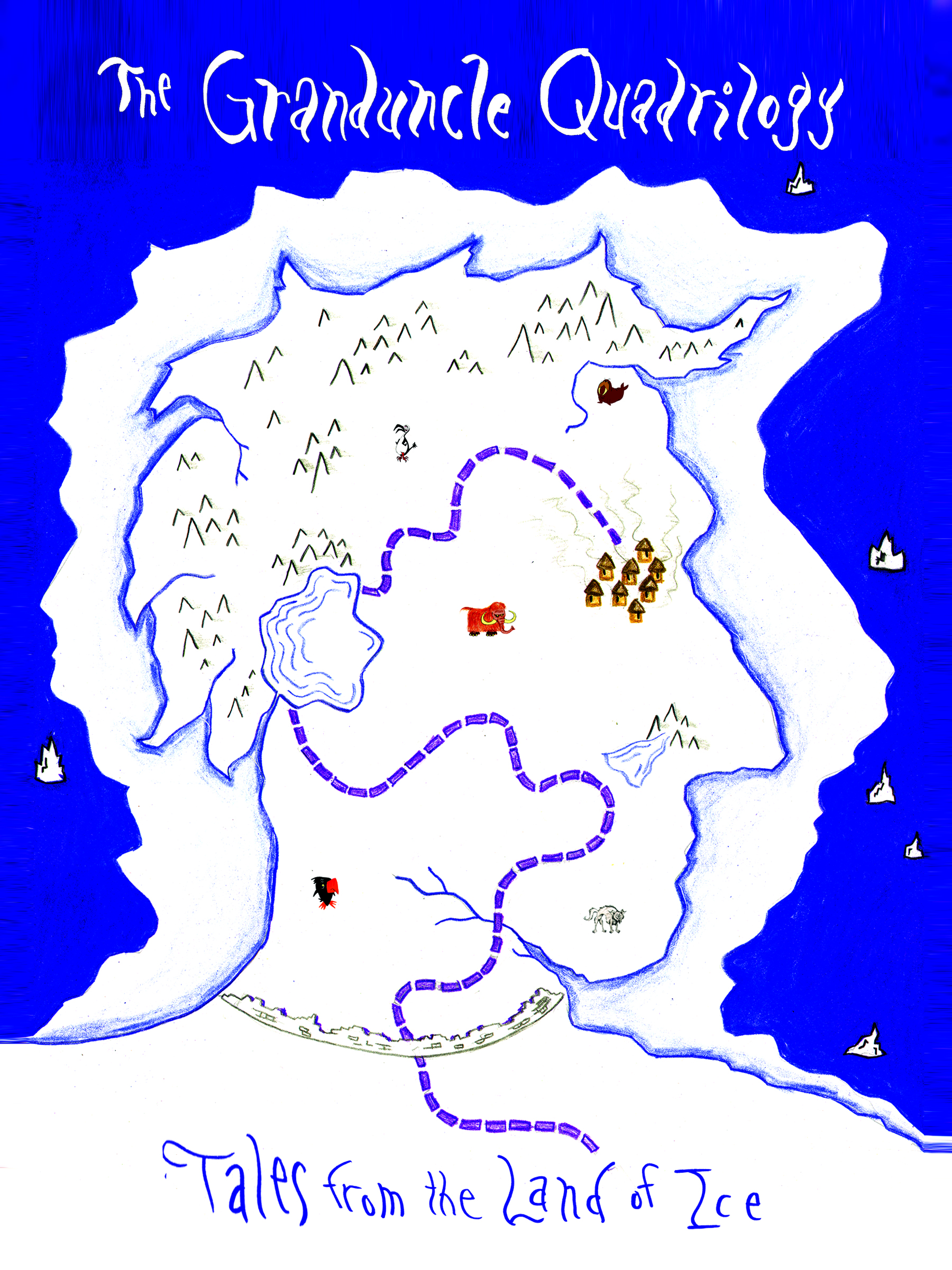 THE GRANDUNCLE QUADRILOGY: TALES FROM THE LAND OF ICE