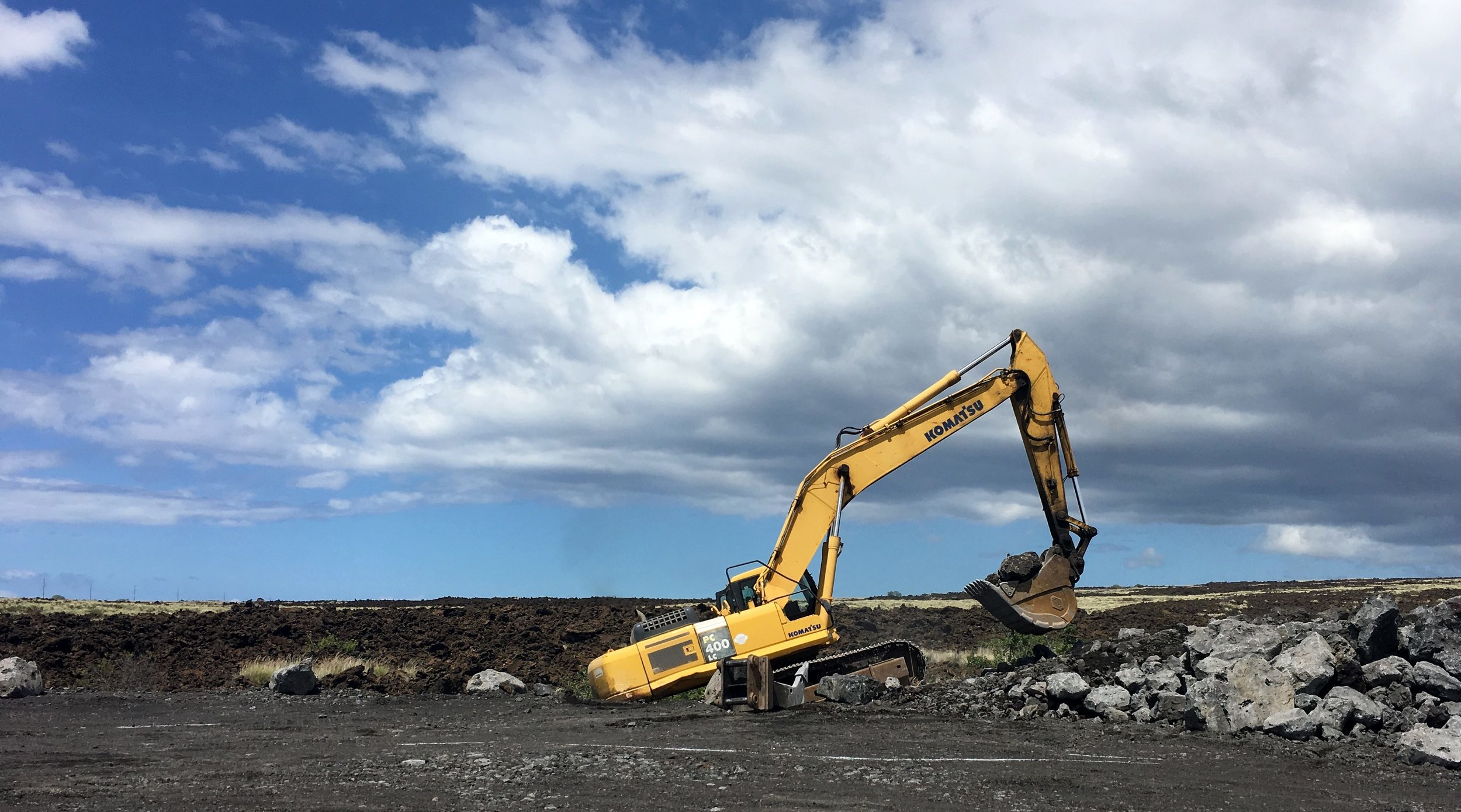 Excavation Kona Hawaii_Bolton Inc