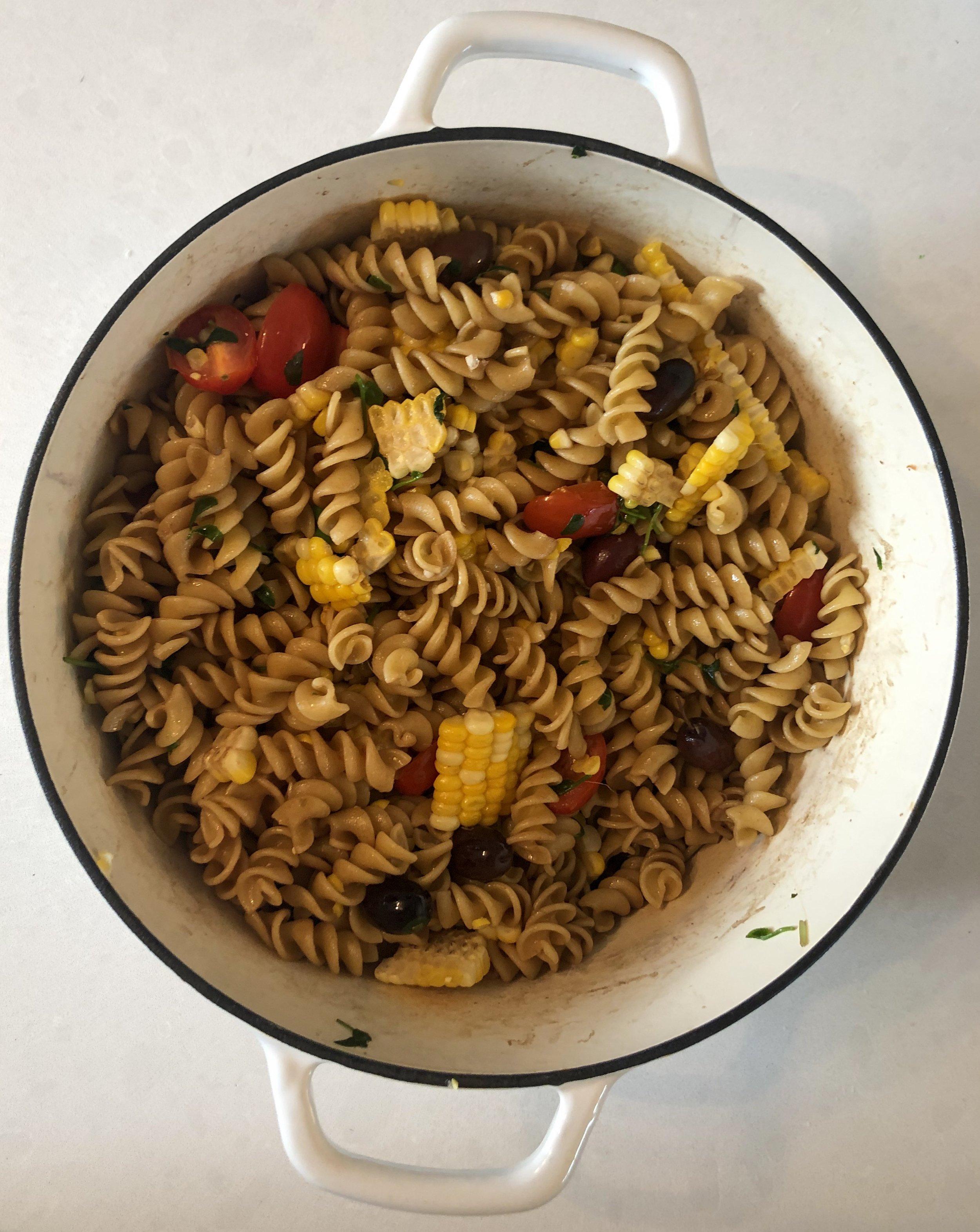 veggies + pasta