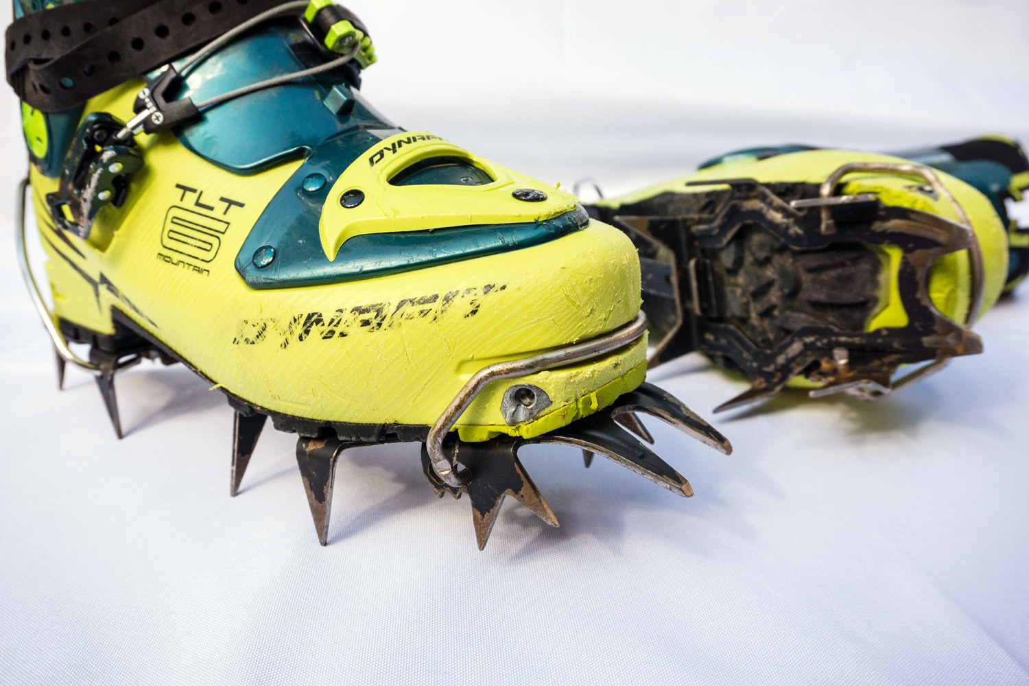 """Toe and heel welts.   The toe and heel welts on AT boots are ideally suited for """"bail"""" style bindings for a secure, quick and repeatable fit. They also provide the most secure method for attaching boot crampons."""