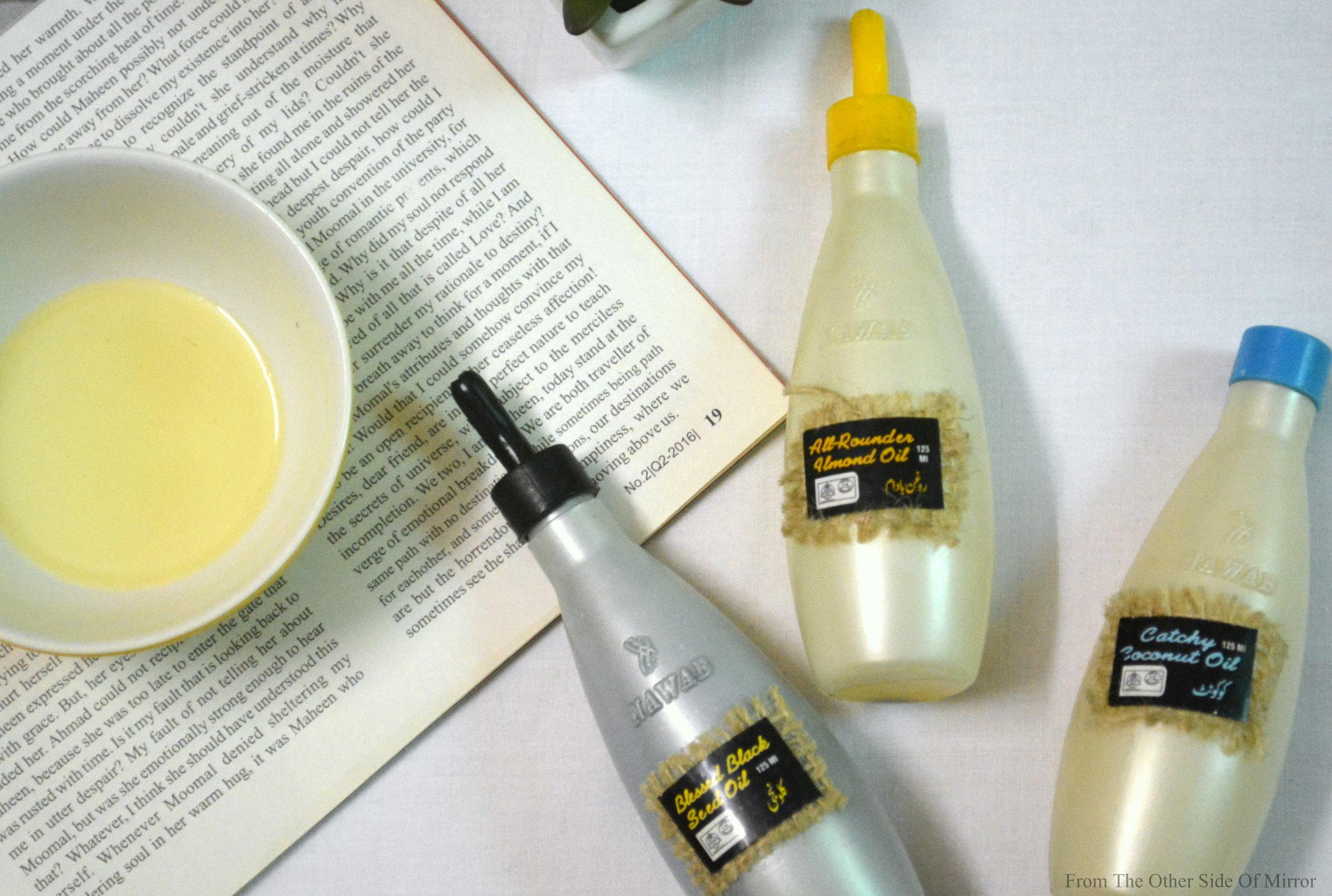 100% Organic Natural Oils by Nawab Organics