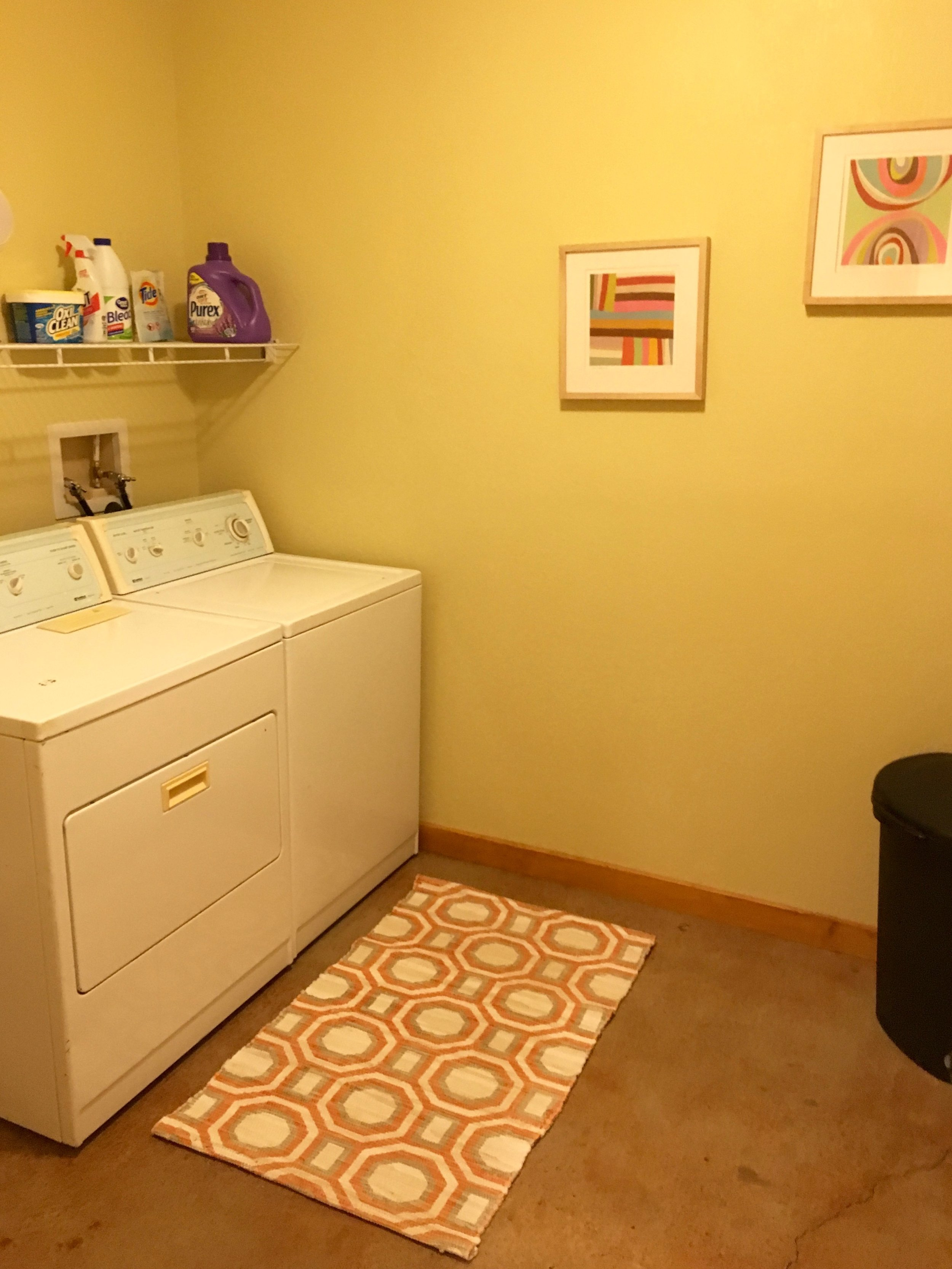 Pine Spring Laundry room