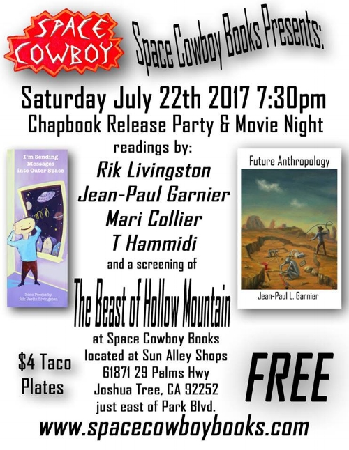 Screening of The Beast of Hollow Mountain - Space Cowboy Books - Shared by www.Rent29.com