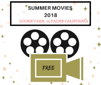 summer movies in Luckie Park 2017 - Rent29.com