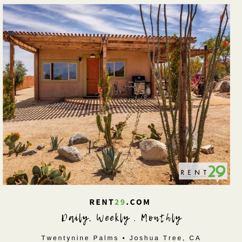 Furnished Rentals 29 Palms with Rent29.com