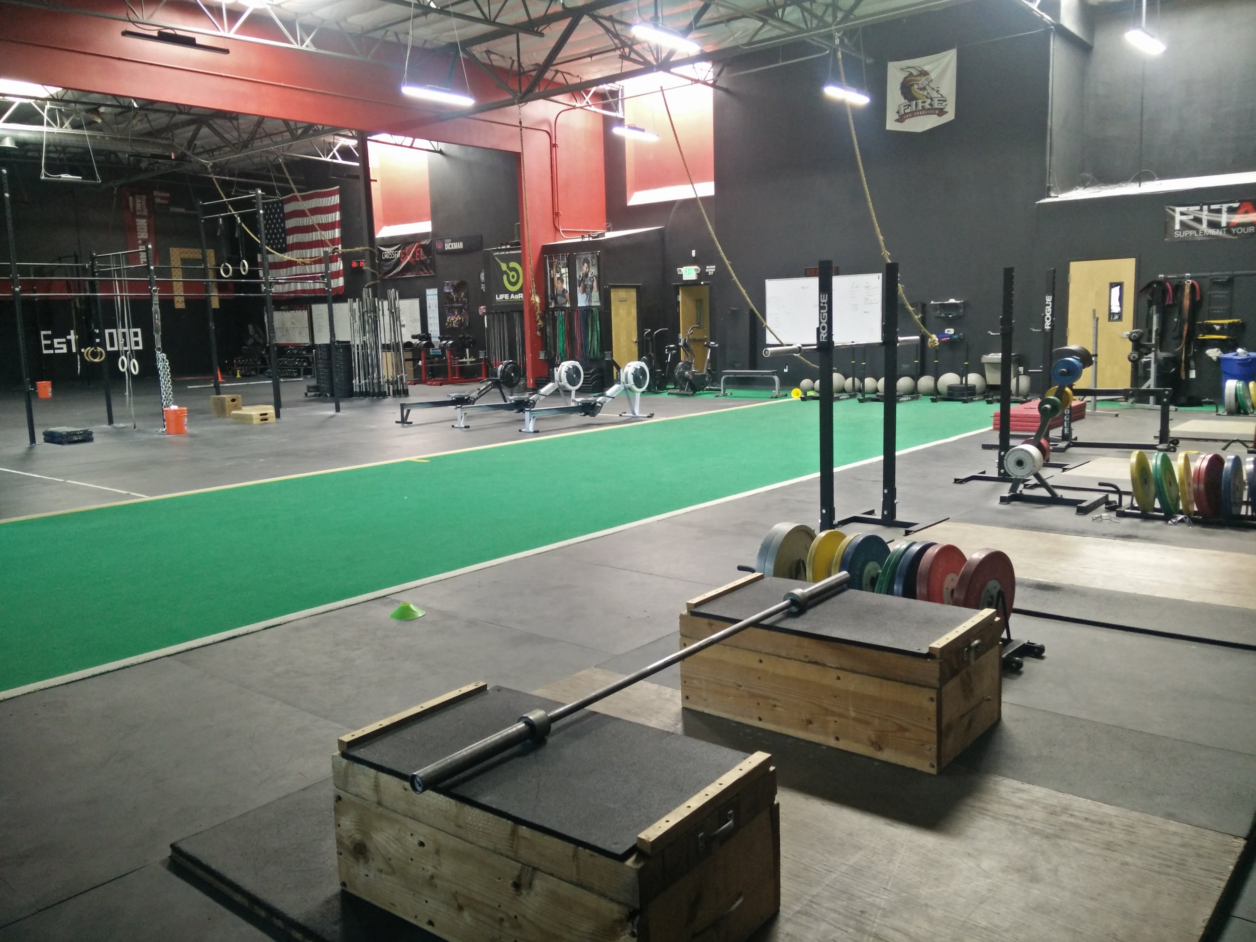 Weightlifting Area/Training Floor