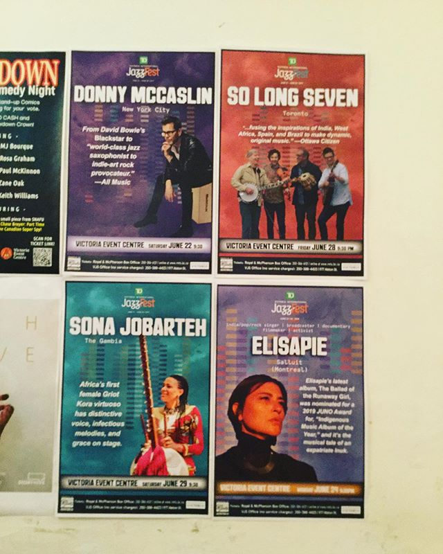 Thanks to Victoria Jazz Fest for a fun night last night. Last show of the tour tonight in Duncan!