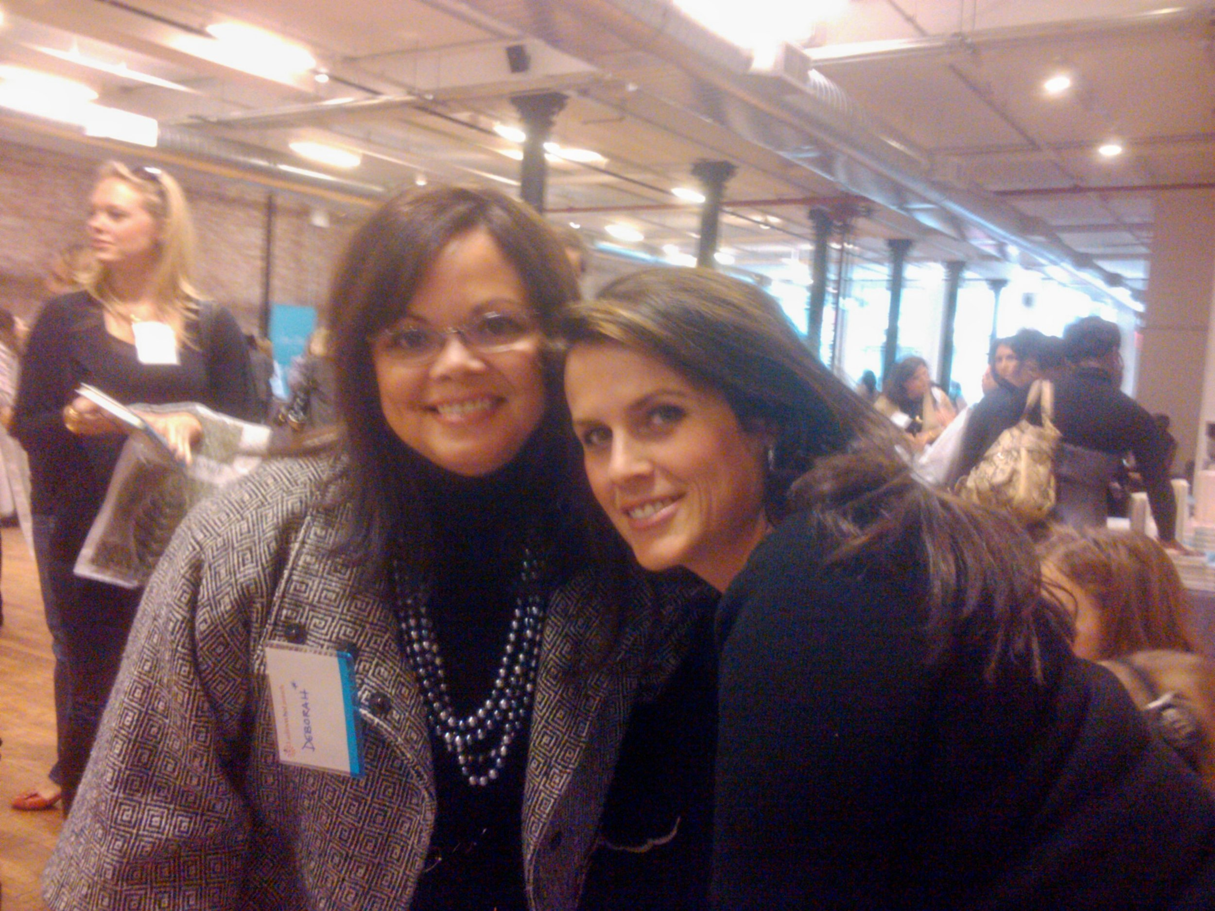 Lisa Oz (Dr Oz's Wife) at Ladies Who Launch Convention