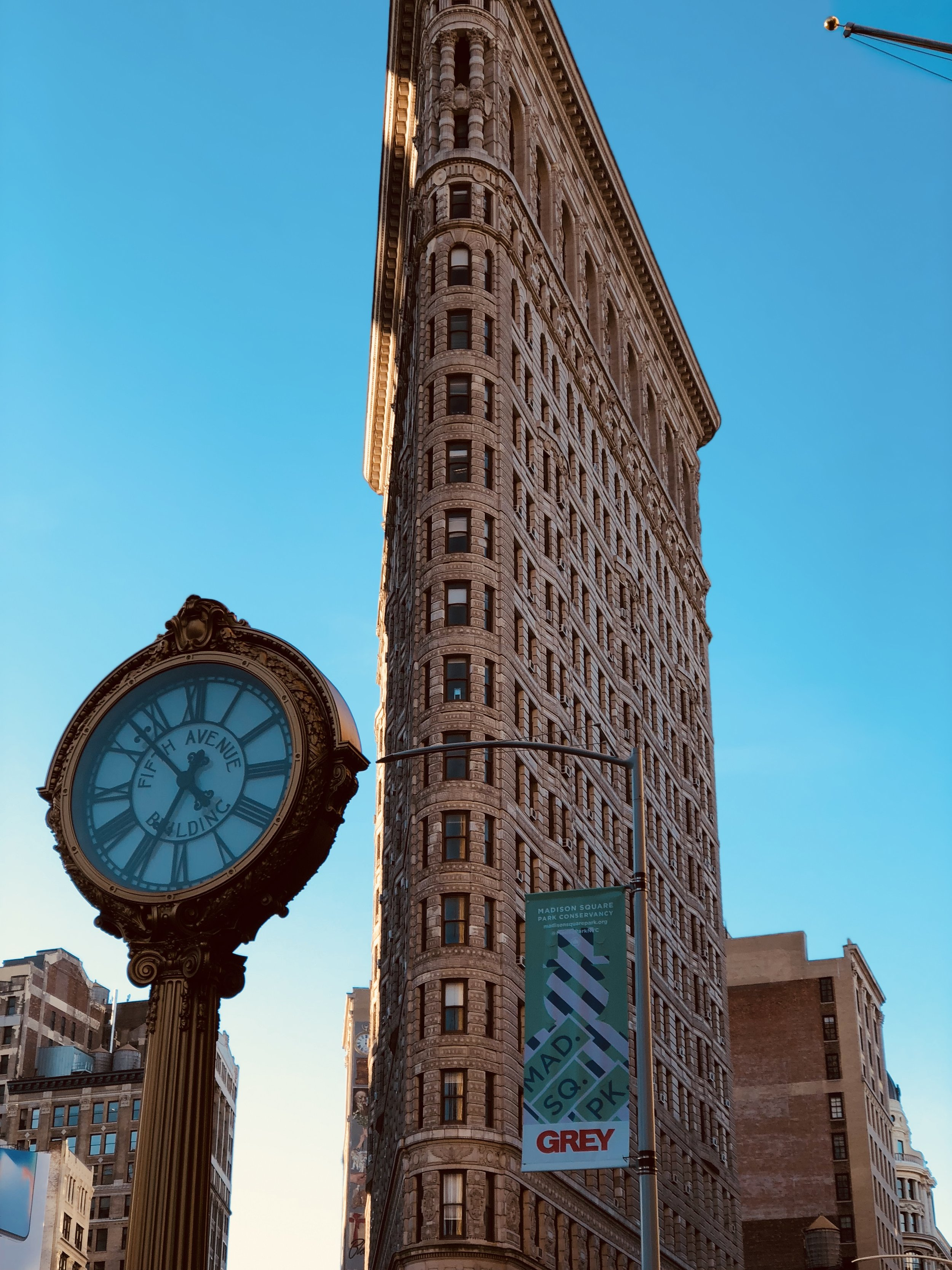 Though one of the tallest buildings of its time, the Flatiron's 300-foot ascent pales in comparison to today's skyscrapers.