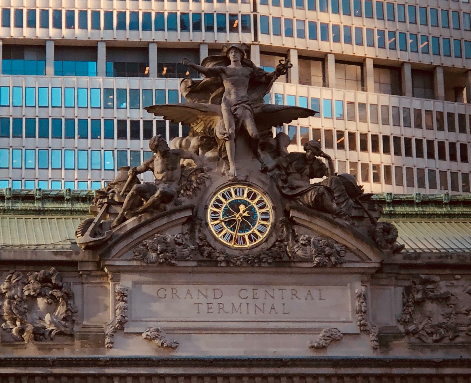 The architecture of Grand Central Terminal is truly unforgettable.