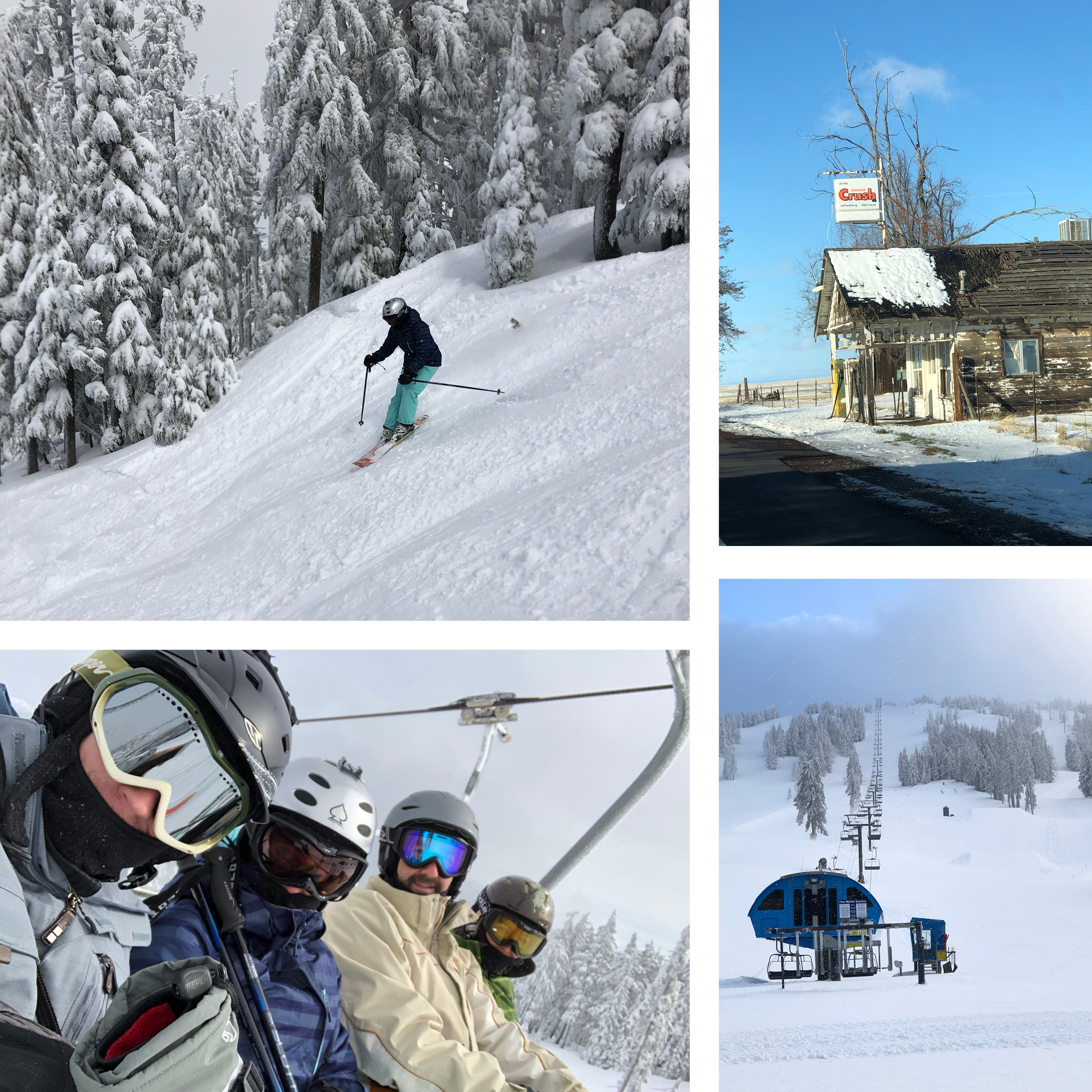 Hitting the slopes in Mt. Bachelor is a must-do winter activity in Oregon.