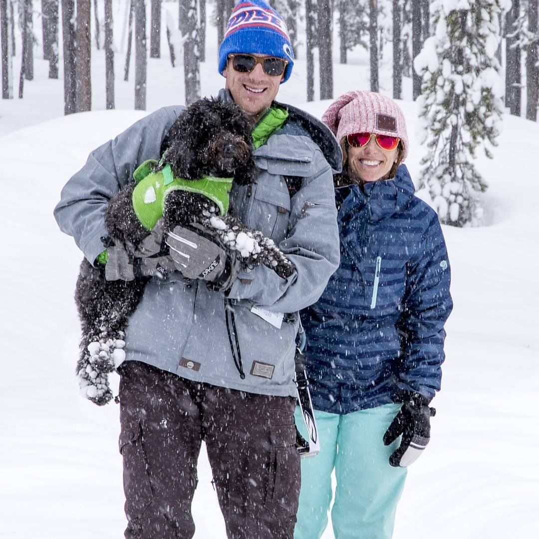 Snowshoeing up Edison Butte is a scenic and fun route.