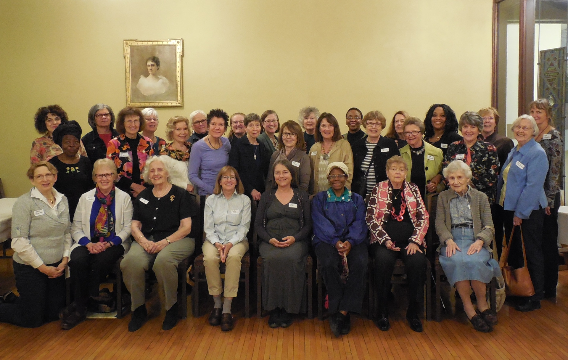 Pictured above are many…  but not all! … ECW members of Grace Church.