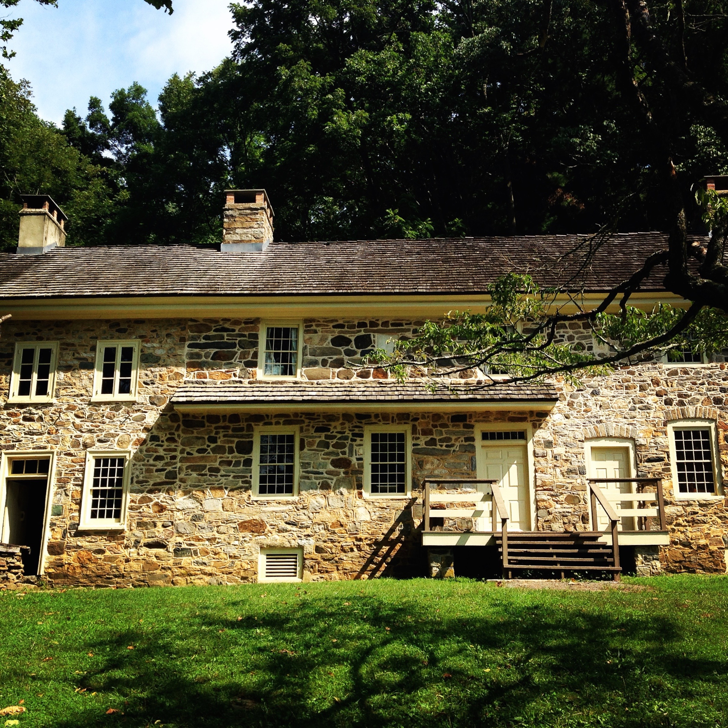 The  Colonial Plantation  in Ridley Creek State Park