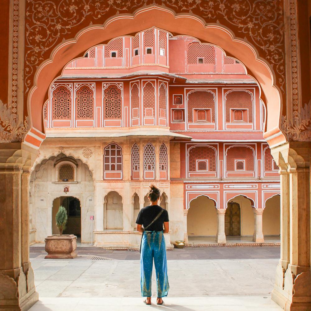 Yogamour Global Volunteer Yoga Retreat in Jaipur