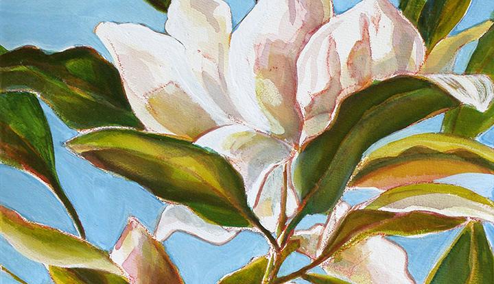 """""""18th Street Magnolia"""" by Joyce Jonte"""