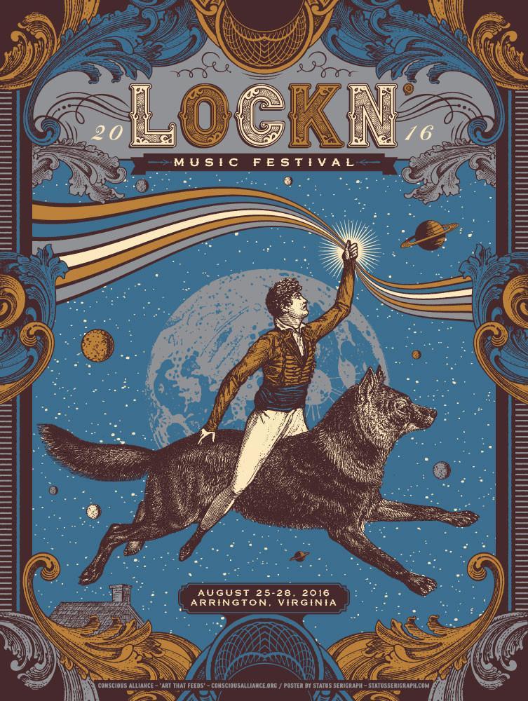 Lockn Music Festival Poster