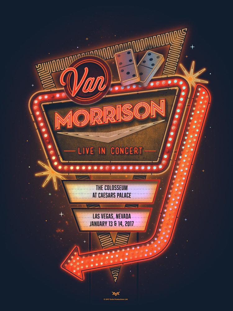 Van Morrison Concert Poster