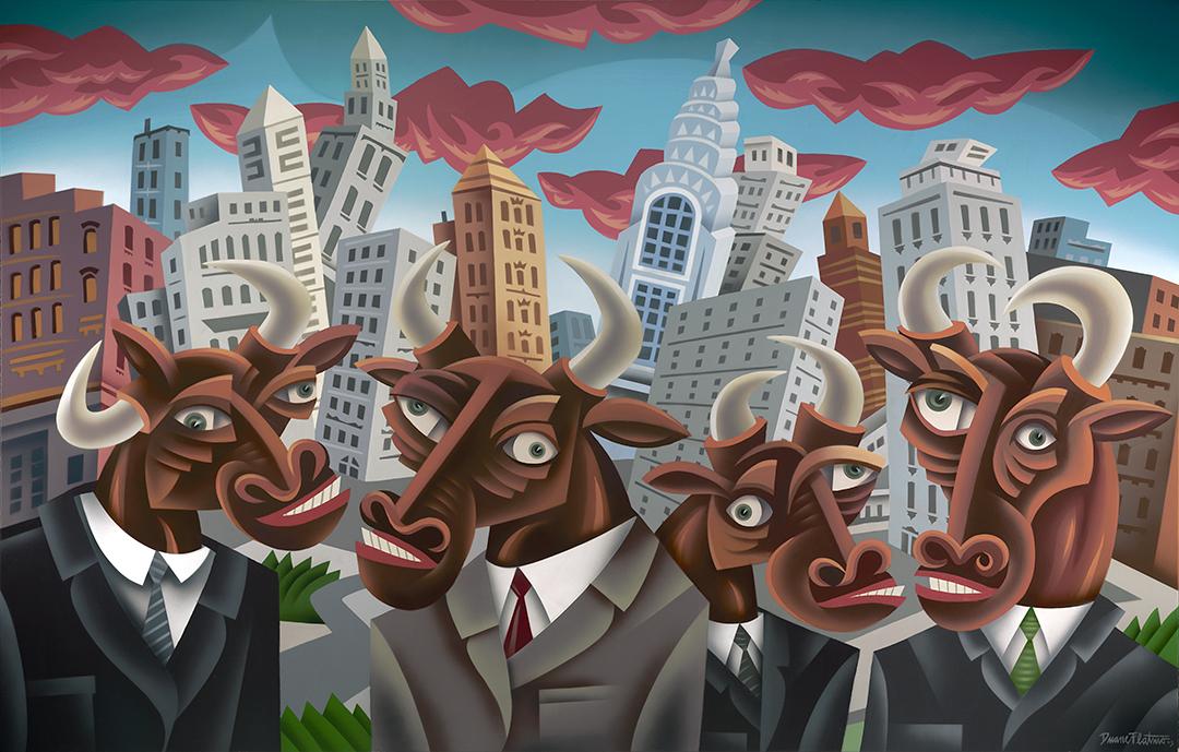 Wall Street Bulls Duane Flatmo.jpg