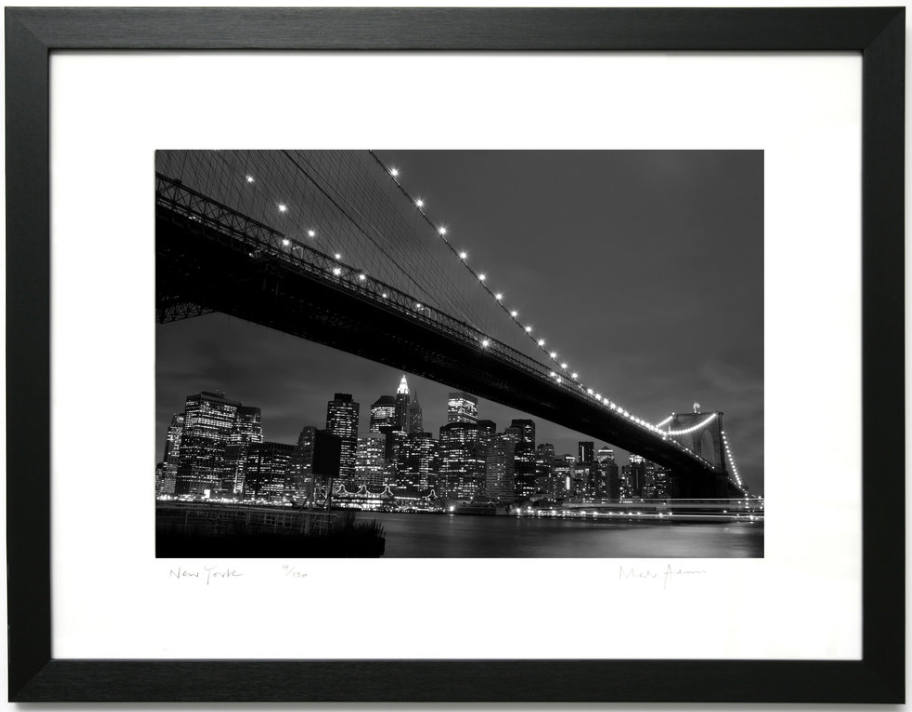 Framed New York Prints Black & White -