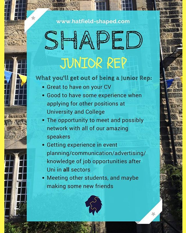 **~APPLICATIONS CLOSE TODAY~** . . SHAPED Junior Rep applications close today at 12 noon, but it's not too late to write your maximum 300 word manifesto and send it to hatfield.shaped@durham.ac.uk 😊 We look forward to reading your manifesto!! . . #SHAPED #hatfieldcollege #hatfield #durhamuniversity #durham #durhamuni #careers #development #personaldevelopment #manifesto #applications