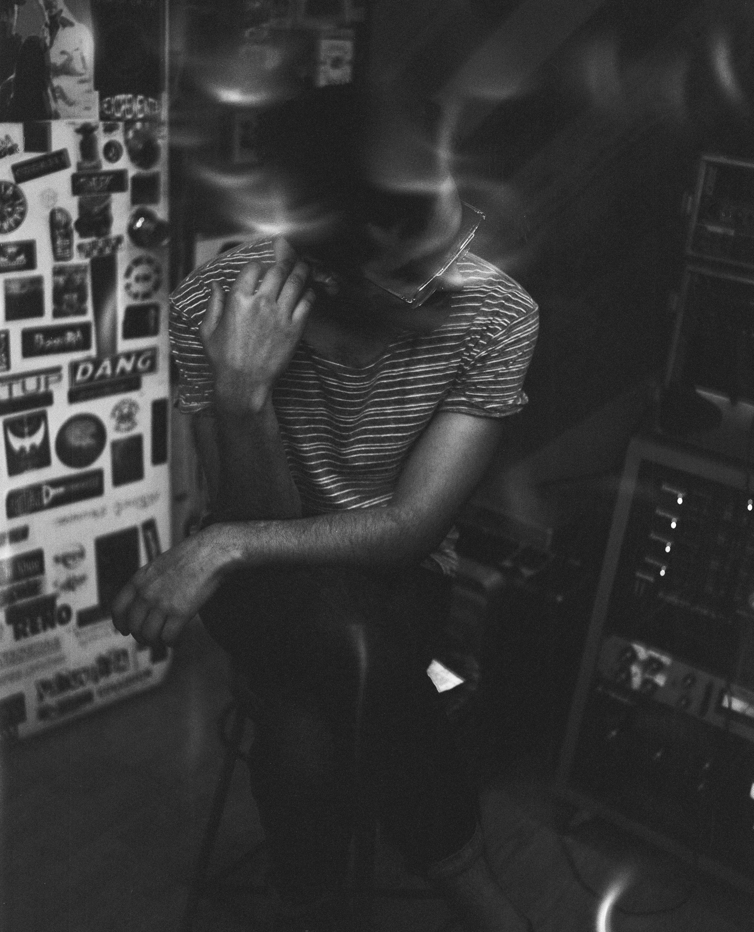 Travis- The drummer