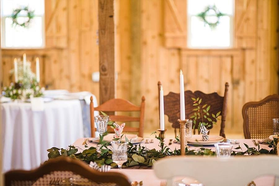 Your individual touches will make your rustic barn wedding like no one else's