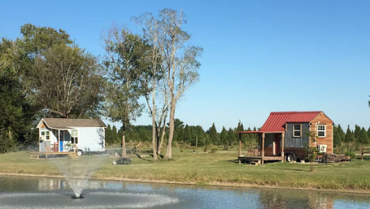 Tiny Houses available for a weekend stay at  AirBnB