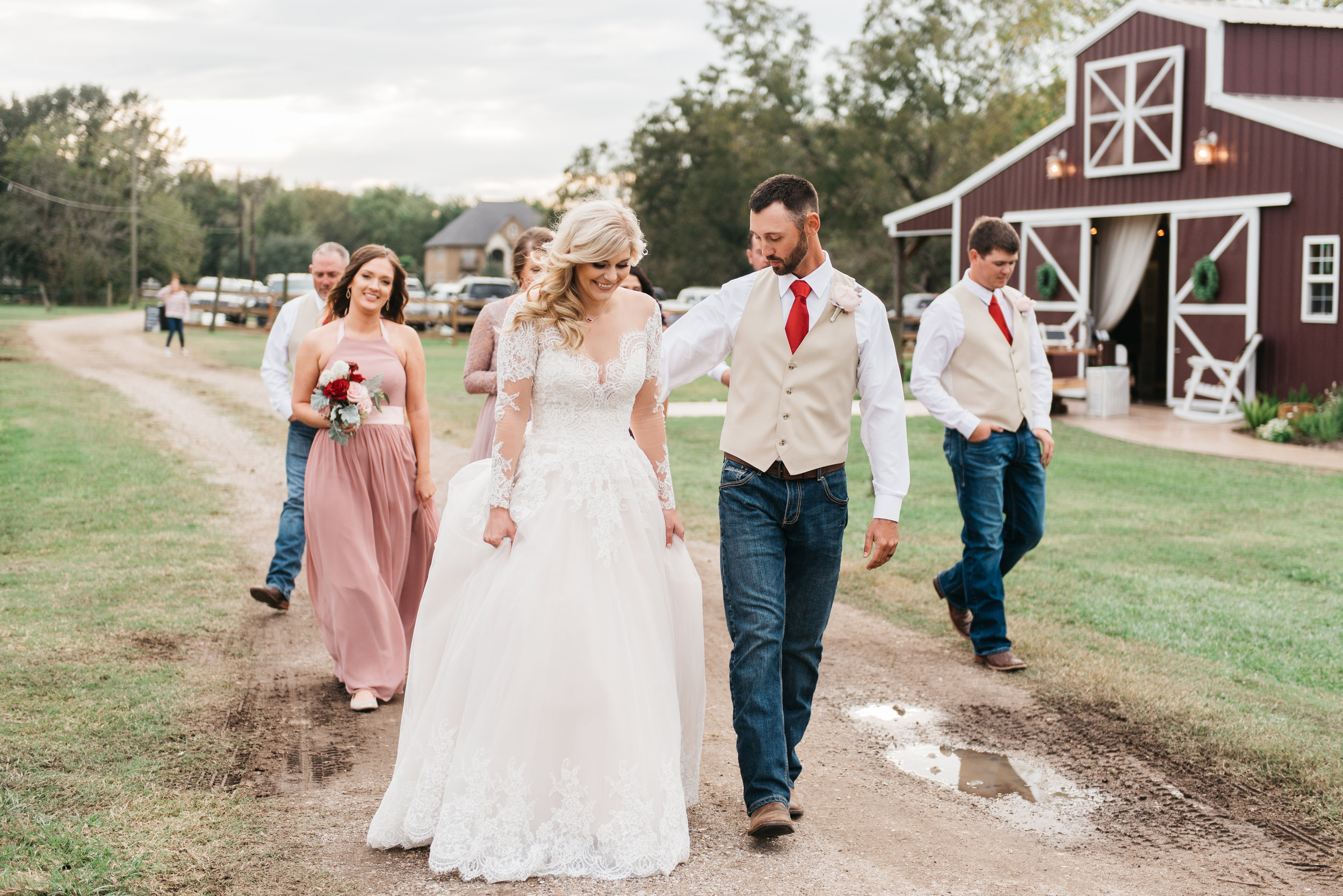 Rae Leigh Photography   More info on weddings at  The Barn at Holiday Acres