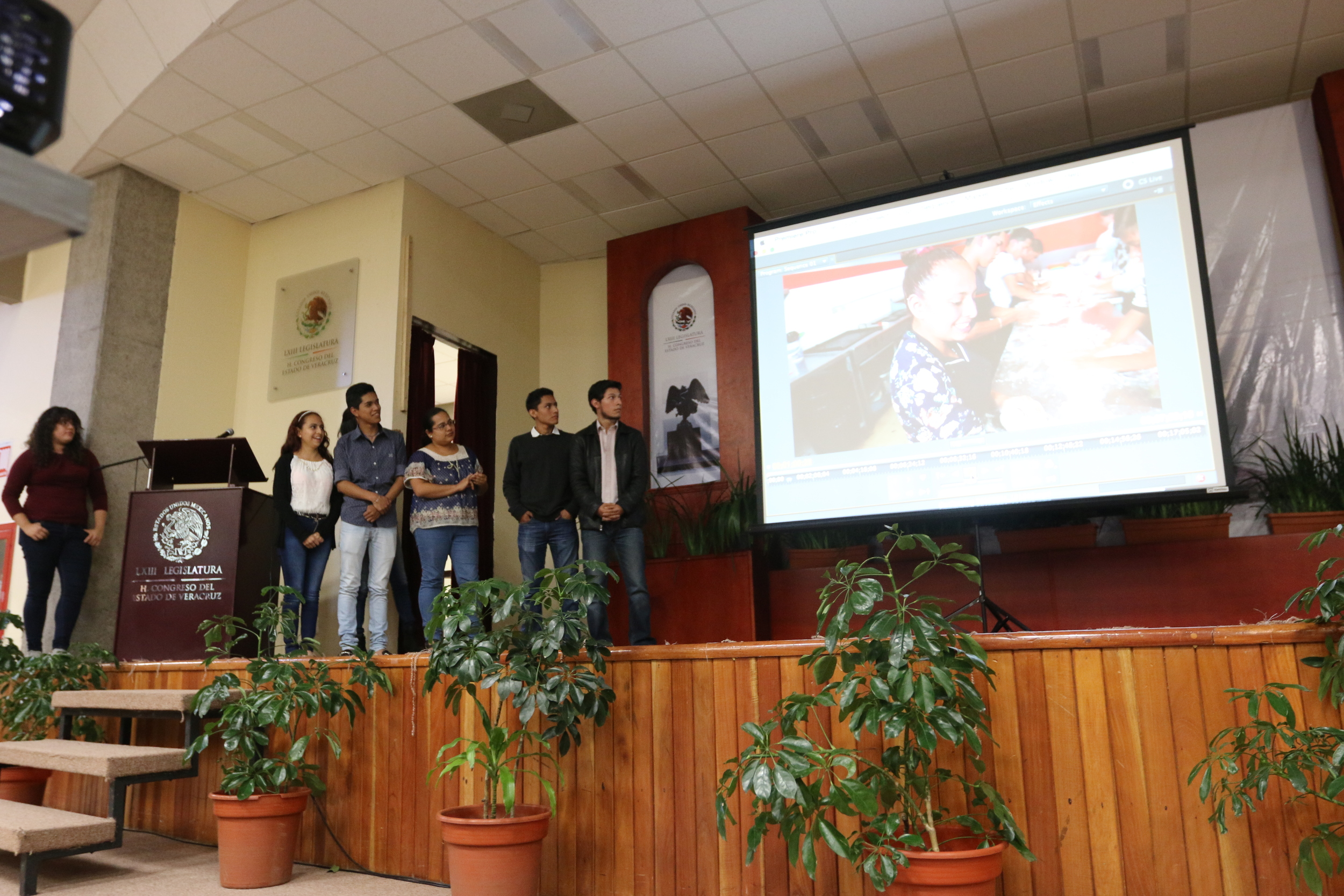 'Descubriendo la Ciencia en la Cocina' project with high school and college students in Xalapa, Mexico.
