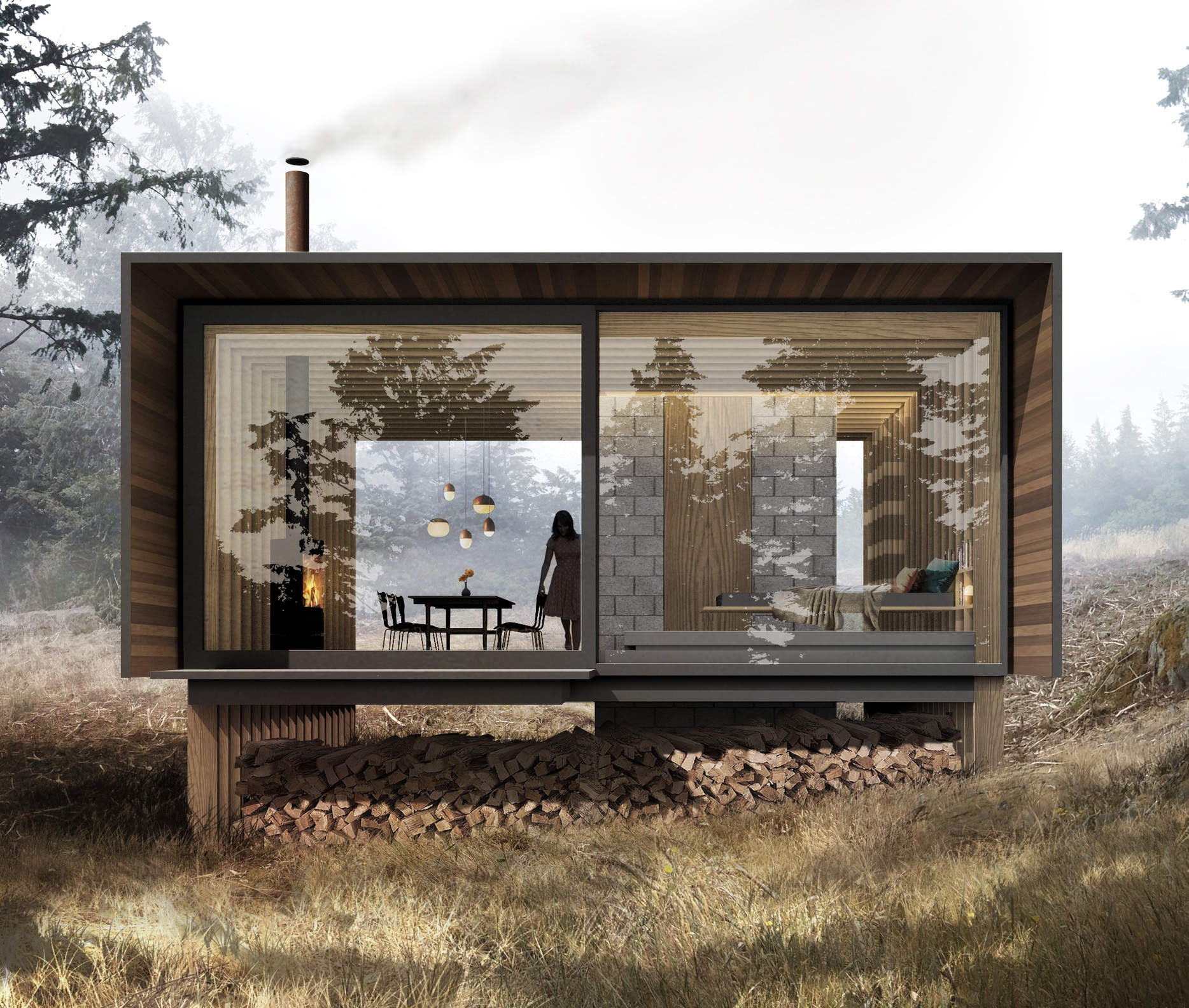 Studio Guest Cabin