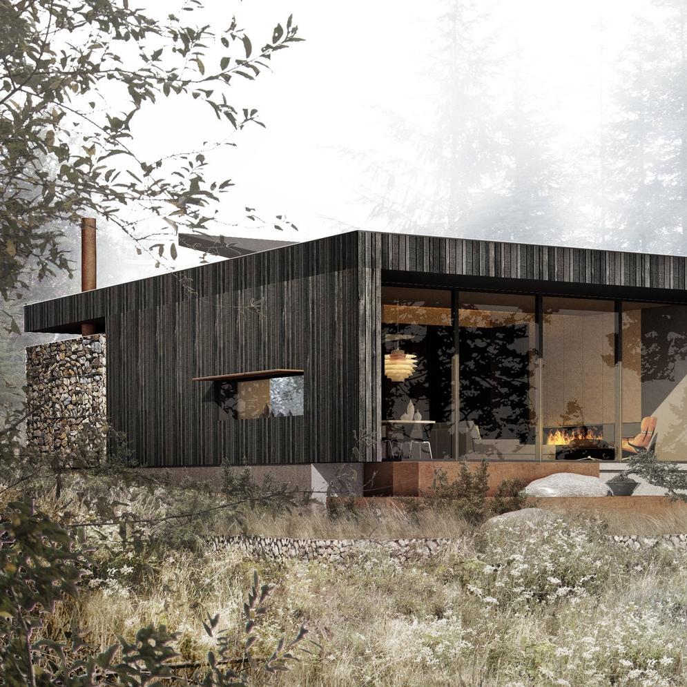Trailhead House  Jordan River, BC  Josh Harvey house design