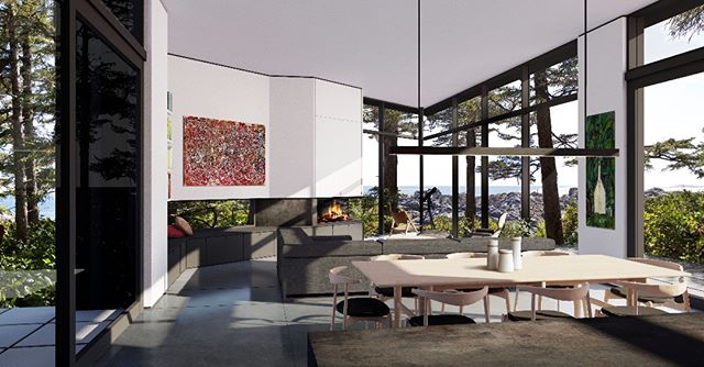Ucluelet House rendering, 2017