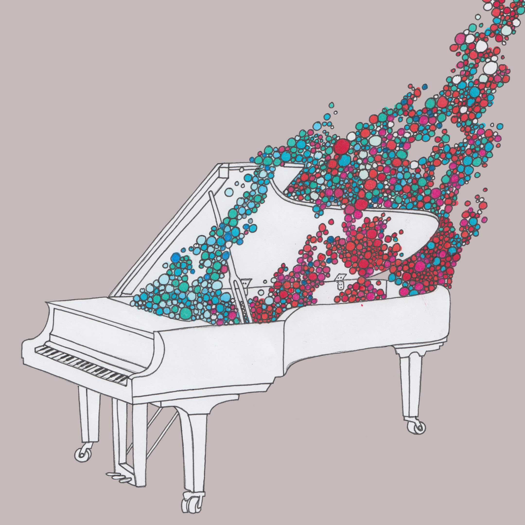 Piano #2 by Sean David Christensen