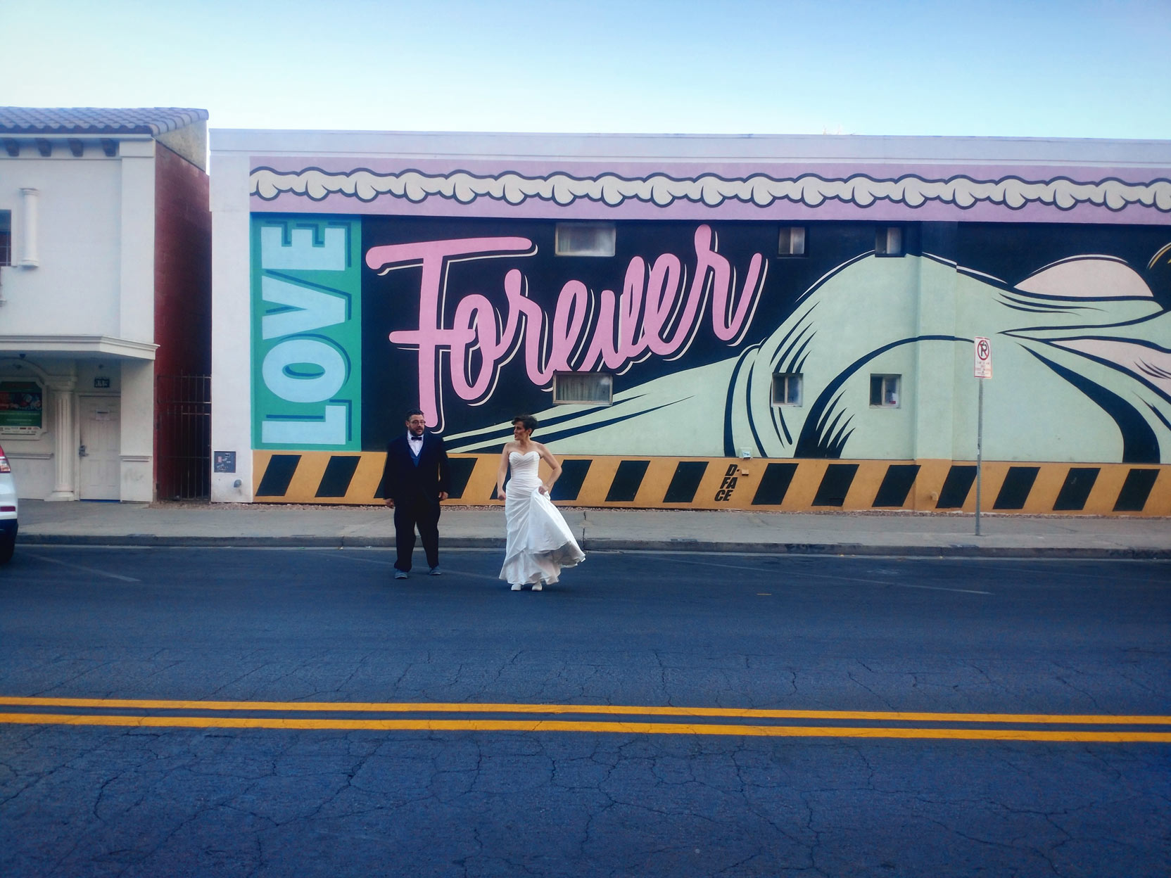 My sister & brother-in-law celebrate their 10th wedding anniversary in Las Vegas; October 12th, 2018.