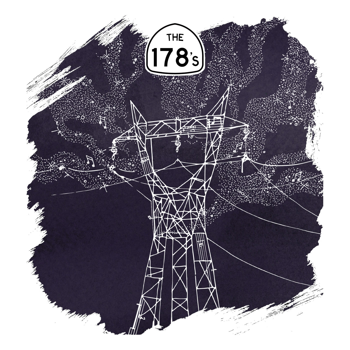 The 178's;  Album cover illustrated & designed by Sean David Christensen