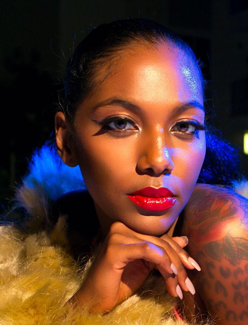 Model: Noel  Hair: Vela Davis  Makeup: Tanya Amelia White (Faces By Amelia)  Stylist: Alysia Katrice  Photo: Devon C. Adams Photography