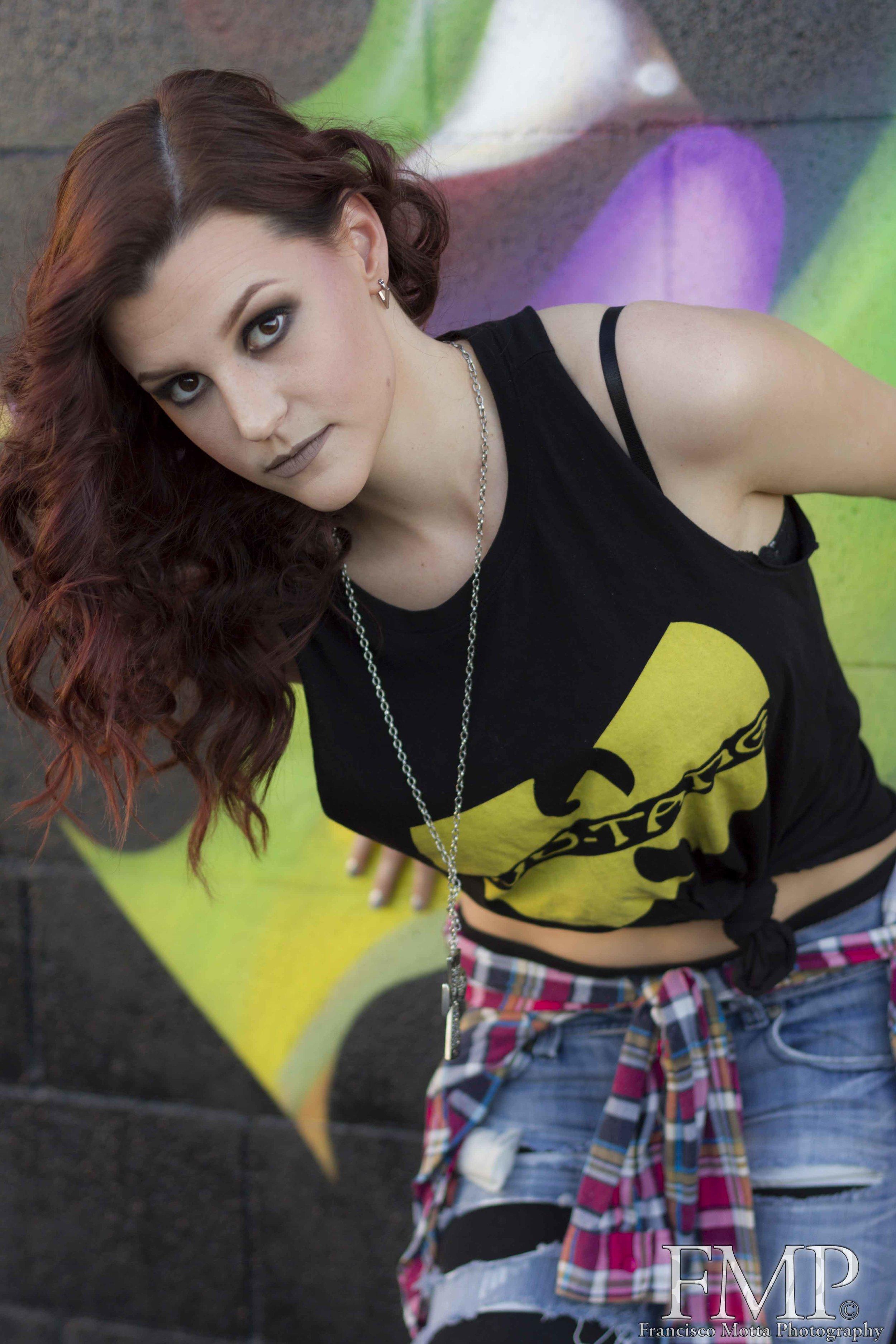 Model: Andrea  Hair & Makeup: Faces By Amelia (Tanya Amelia White)  Photography: Francisco Motta Photography