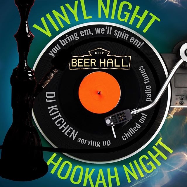 Get ready another Hookah Nights @thecitybeerhall42 is about to start. Shisha, drinks and good music on the patio at 7pm #thatstorealbany #citybeerhall #hookahnights