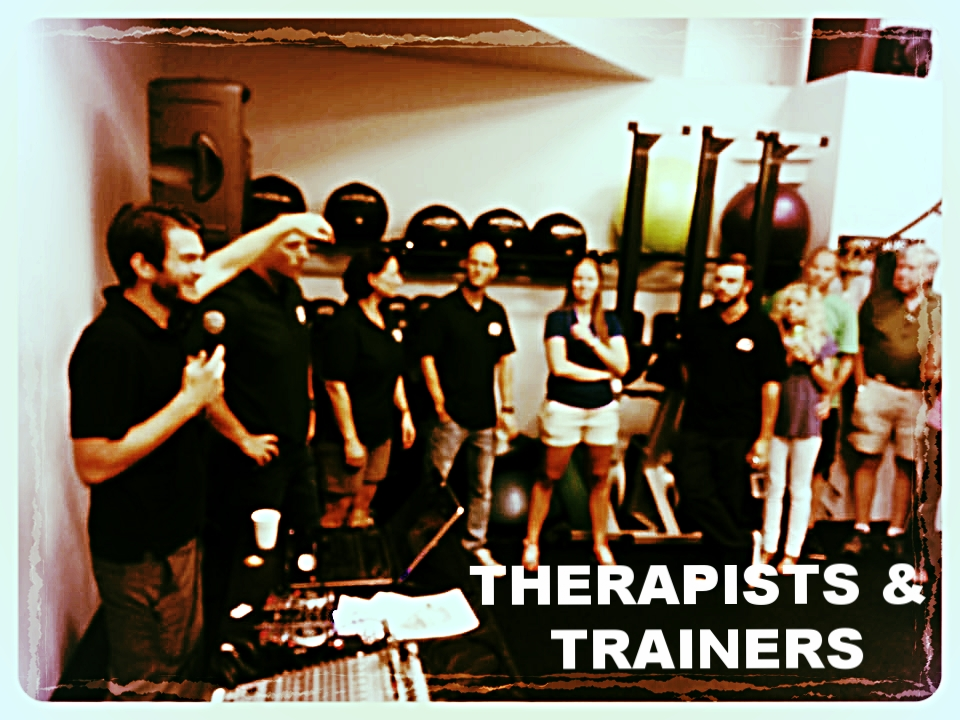 THERAPISTS  & TRAINERS ›