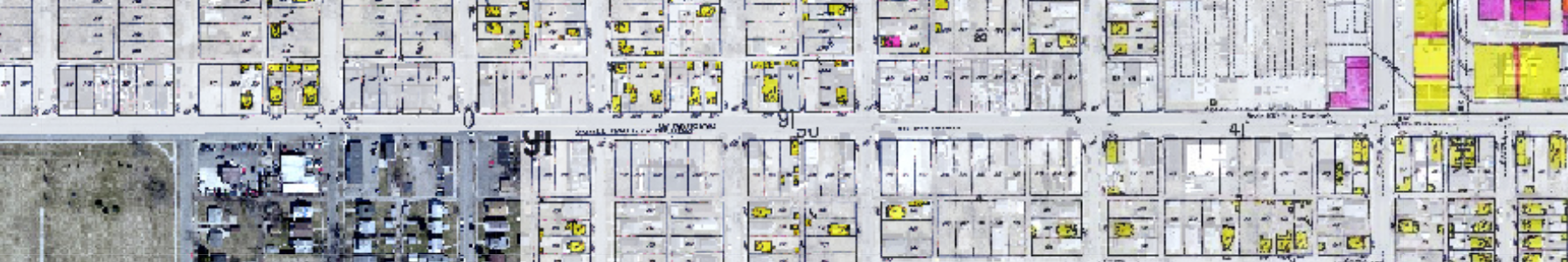 1917 map of Western Avenue.