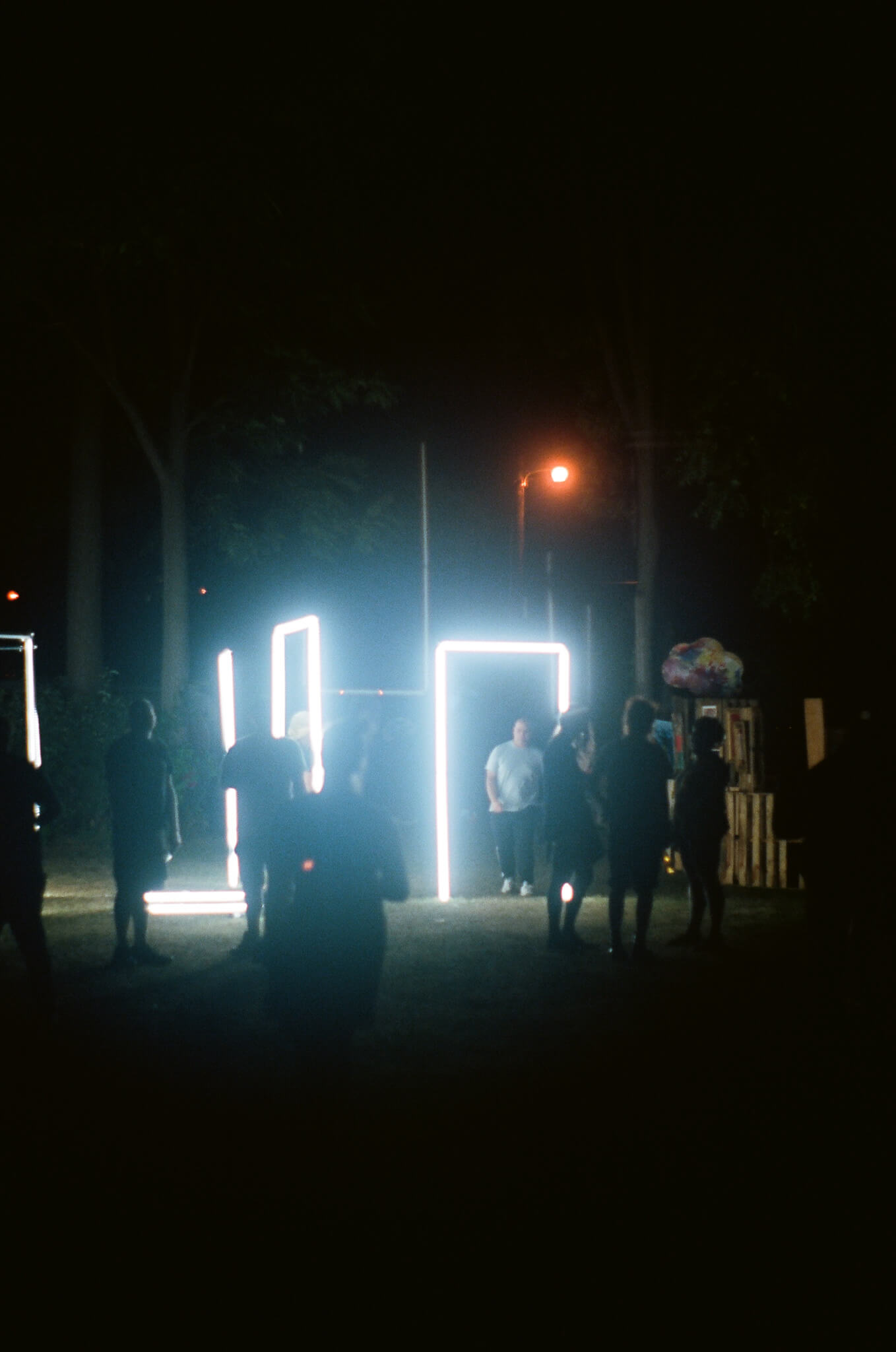 An interactive light sculpture by  GIIIVENS.