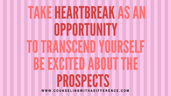 Heartbreak, like any rock-bottom has the unique ability to make us do things we did not think we are capable of. These can be positive or negative things.  Resentment is like drinking poison and waiting for the other person to die. It's up to you to make sure you use this opportunity to bring about positive change.  Use this time to get to know yourself and to get strong enough to not keep getting hurt again.  Read Self Love: The Core of Self Healing http://counselingwithadifference.com/counseling-with-a-difference/2016/11/15/self-love-the-core-of-deep-healing