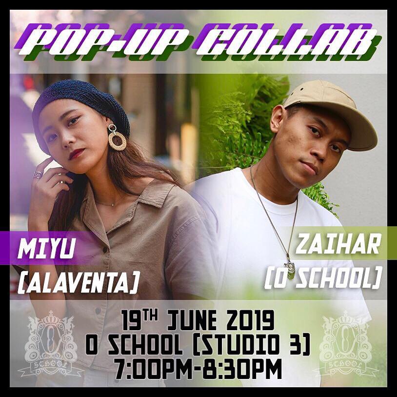 Pop Up Class - Miyu and Zaihar
