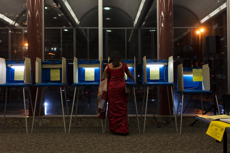 Polling Place- Sari 42. 2018