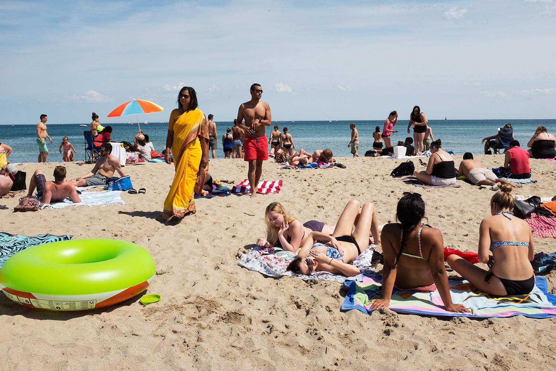 Bradford Beach- Sari 01. 2017