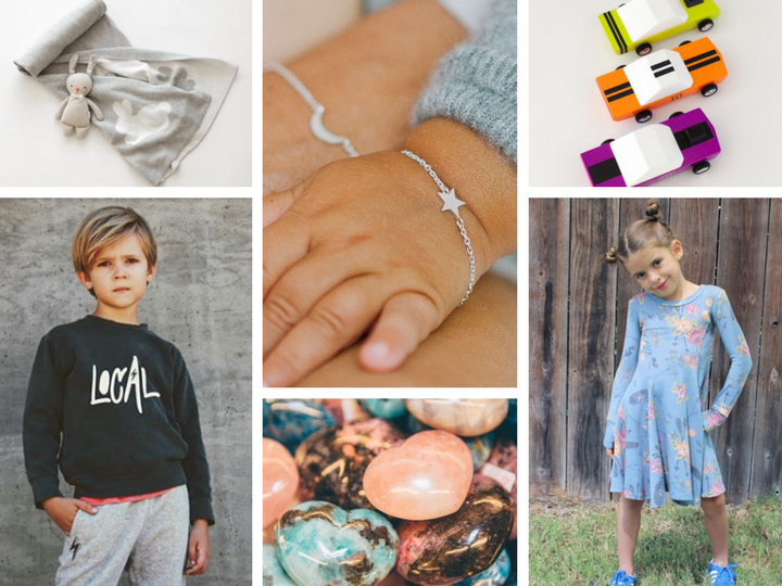 For the Little Ones: Little Lamma / Starling Jewelry / Little Lamma / Grey & Ray  Rockems Crystals / PixieLane by Sydney